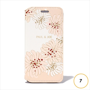 [ポールアンドジョー]PAUL & JOE COLLECTION CHRYSANTHEMUM Booktype Case for iPhone 7