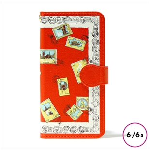 vikka manipuri case collection stamp diary for iPhone 6/6s
