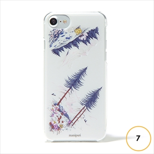 vikka manipuri case collection forest for iPhone 7