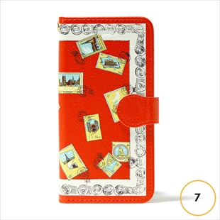 vikka manipuri case collection stamp diary for iPhone 7