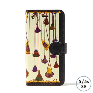 vikka manipuri case collection tassel diary for iPhone 5/5s/SE