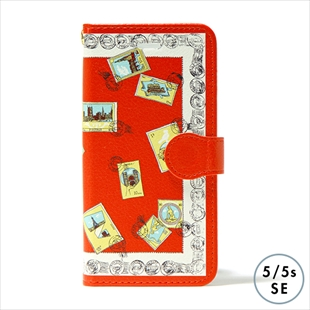 vikka manipuri case collection stamp diary for iPhone 5/5s/SE
