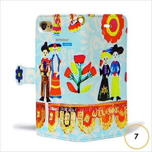 les Briqu'a braque case collection Mexico diary for iPhone 7