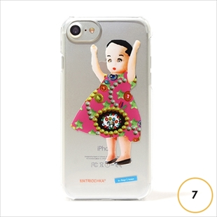 les Briqu'a braque case collection Indian girl for iPhone 7