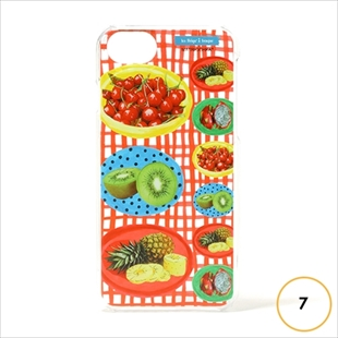 les Briqu'a braque case collection fruit plate for iPhone 7