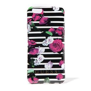 GUESS SPRING - Hard Case - STRIPES/ROSES  for iPhone  6/6s