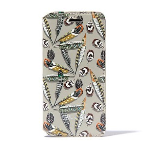 PAUL & JOE COLLECTION Fetahers Booktype Case for iPhone 6/6s