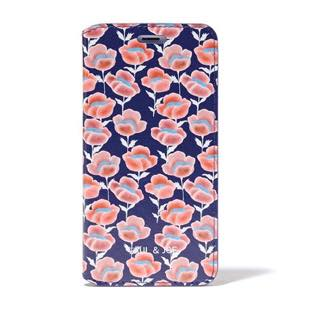 PAUL & JOE COLLECTION Red Flowers Booktype Case for iPhone 7 Plus