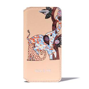 PAUL & JOE COLLECTION Elephant Booktype Case for iPhone 7