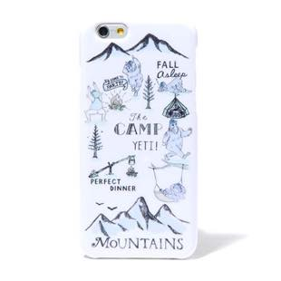 BLUEWHITE The CAMP ブルー for iPhone 6/6s