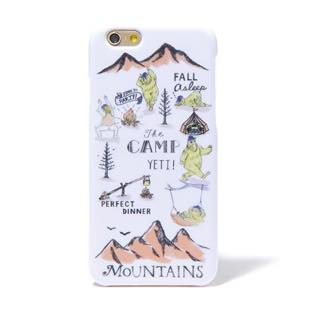BLUEWHITE The CAMP イエロー for iPhone 6/6s