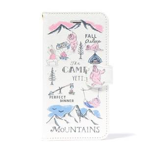 BLUEWHITE The CAMP 手帳型ケース ピンク for iPhone 6/6s