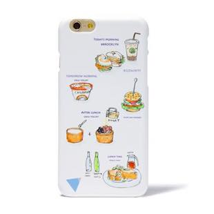 BLUEWHITE LOCAL FOOD MAT Cream for iPhone 7
