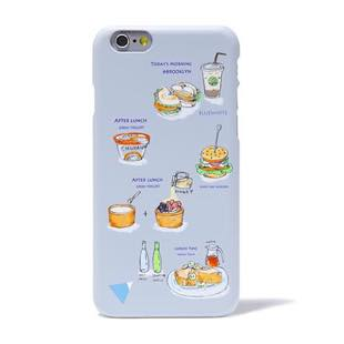 BLUEWHITE LOCAL FOOD MAT Grey for iPhone 8/7