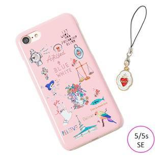 [ブルーホワイト]Amijed+BLUEWHITE Pink for iPhone 5/5s/SE