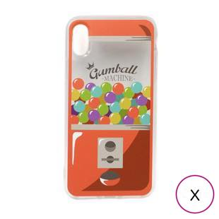 [キャンディーズ]TPU CASE GUMBALL MACHINE for iPhoneX
