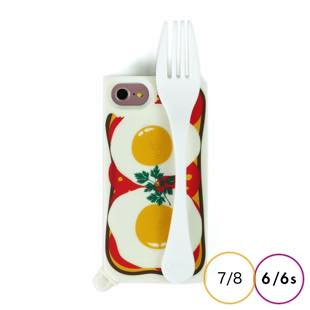 [キャンディーズ]HANDLE CASE BREAKFAST for iPhone 8 / 7 / 6s / 6