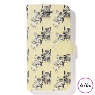 [ファッジホリデーサーカス]FUDGE Holiday Circus manipuri collection cat diary for iPhone 6/6s