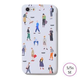 [ファッジホリデーサーカス]FUDGE Holiday Circus FUDGE GIRL DAY for iPhone 5/5s/SE