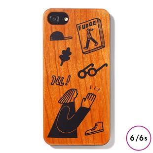 [ファッジホリデーサーカス]FUDGE Holiday Circus FUDGE girl wood for iPhone 6/6s