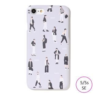 [ファッジホリデーサーカス]FUDGE Holiday Circus FUDGE GIRL monochrome for iPhone 5/5s/SE