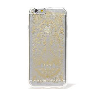 RIFLE PAPER CO. iPhone6/6s ケースコレクション Clear Gold Floral Lace