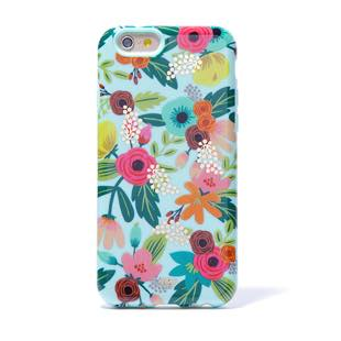 RIFLE PAPER CO. Mint Floral  for iPhone6/6s