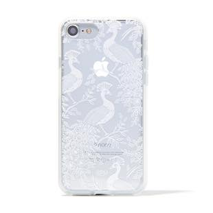 RIFLE PAPER CO. Clear Peacock for iPhone 7