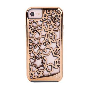 Case-Mate Tough Layers Case Stars Rose Gold / Grey for iPhone 7 / 6s / 6