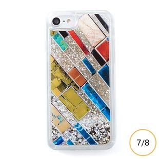 [アイカバー]icover Sparkle case Stone Art for iPhone 8/7