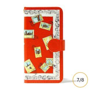 vikka manipuri case collection stamp diary for iPhone 8 / 7