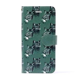 vikka manipuri case collection cat diary for iPhone 5/5s/SE