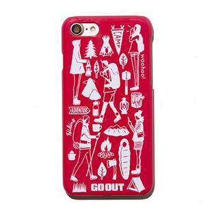GO OUT CASE RED for iPhone 8 / 7