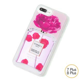 [アイフォリア]PARFUM FLOWER PINK for iPhone 7/8 Plus