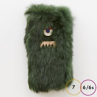 [アコモデ]ACCOMMODE GUILLAUME Rabbit fur for iPhone 7/6s/6