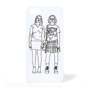 PANIC JUNKIE Enid & Rebecca mono for iPhone 5/5s/SE