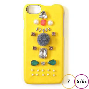 [アコモデ]ACCOMMODE スージー Yellow for iPhone 7/6s/6