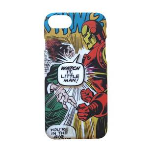 YOOY MARVEL COMIC PARTS SINGLE IRON MAN for iPhone 8 / 7 / 6s / 6