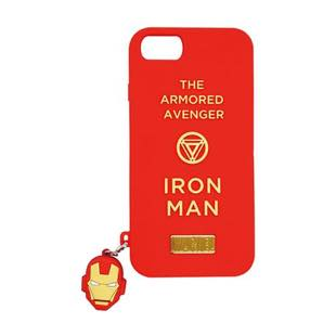 YOOY MARVEL SILICONE CHARM SINGLE IRON MAN for iPhone 8 / 7 / 6s / 6