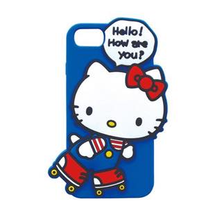 YOOY サンリオ SILICONE SINGLE Hello Kitty for iPhone 8 / 7 / 6s / 6