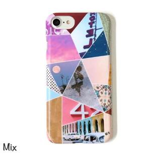 ACCOMMODE トリップコラージュ hard Mix for iPhone 8 / 7 / 6s / 6