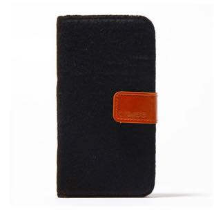 araree NEAT DIARY Cashmere Black for iPhone6/6s