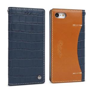 DESIGN SKIN Wetherby・Premium Croco Navy for iPhone7Plus