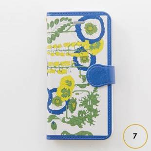 [ヴィカマニプリコレクション]vikka manipuri case collection lilybell diary for iPhone 7
