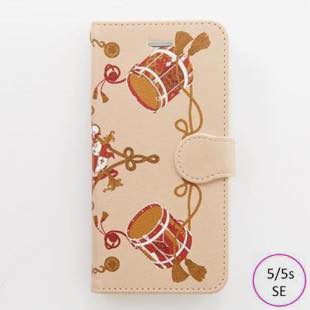 [ヴィカマニプリコレクション]vikka manipuri case collection drum diary for iPhone 5/5s/SE