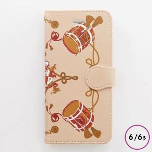 [ヴィカマニプリコレクション]vikka manipuri case collection drum diary for iPhone 6/6s