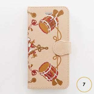 [マニプリコレクション]manipuri case collection drum diary for iPhone 8 / 7