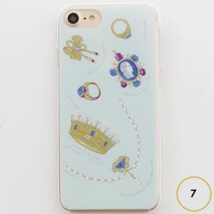 [マニプリコレクション]manipuri case collection bijoux for iPhone 7