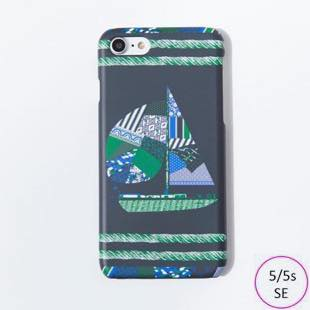 [ヴィカマニプリコレクション]vikka manipuri case collection patchwork yacht for iPhone 5/5s/SE