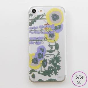 [ヴィカマニプリコレクション]vikka manipuri case collection lilybell Clear for iPhone 5/5s/SE
